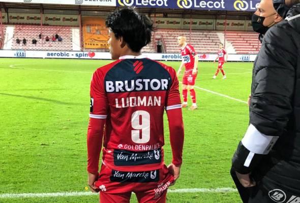 Luqman Hakim buat penampilan pertama bersama Kortrijk