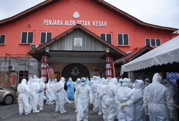 COVID-19: Banduan, tahanan reman wajib jalani ujian saringan