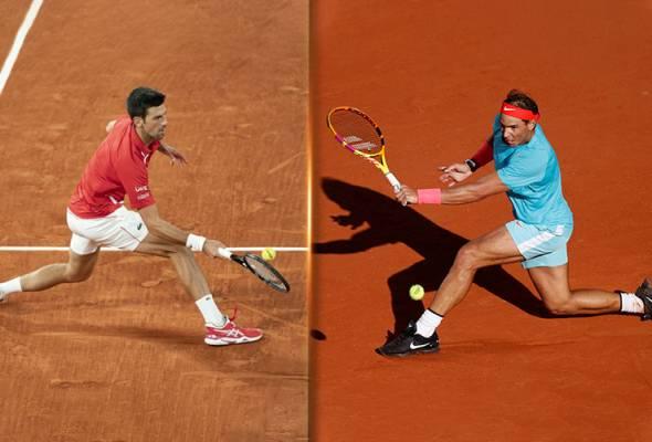 Terbuka Perancis 2020: Pertembungan sengit Nadal dan Djokovic