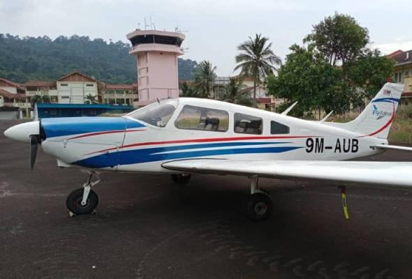 PKPB: Dua juruterbang, dua penumpang pesawat dikompaun di Pulau Tioman