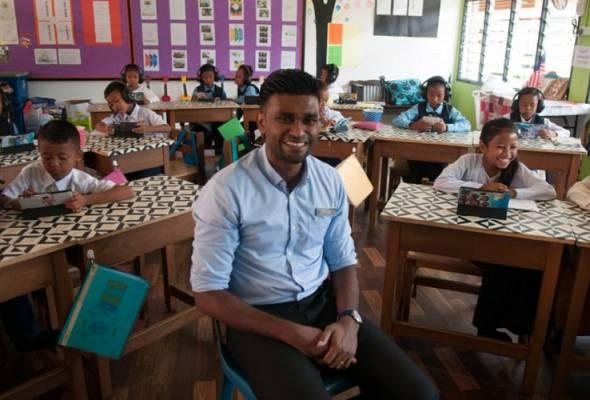 Cikgu Sam tersenarai 10 finalis terbaik Hadiah Guru Global 2020