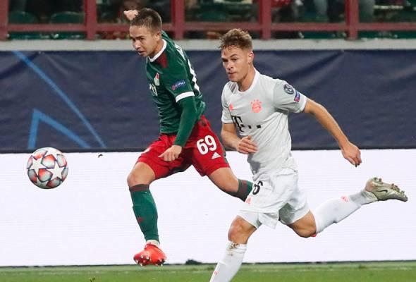 Bayern bernasib baik pulang dengan kemenangan - Kimmich