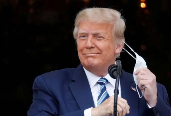 Doktor sahkan Trump tidak lagi berisiko sebar COVID-19, bebas kuarantin