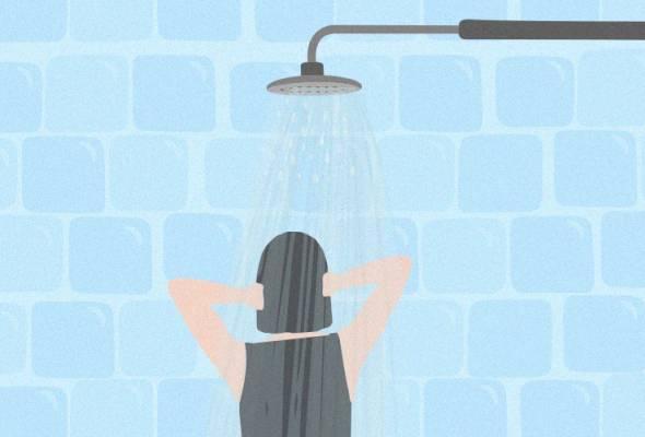 74 peratus pilih menangis semasa mandi - Kajian
