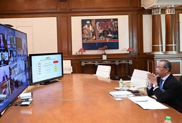 Muhyiddin kembali ke pejabat setelah selesai 14 hari kuarantin kendiri
