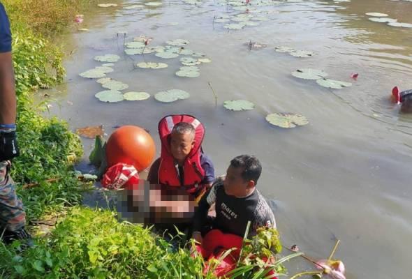 Lelaki lemas ketika kutip bunga teratai dalam lombong di Sungai Siput