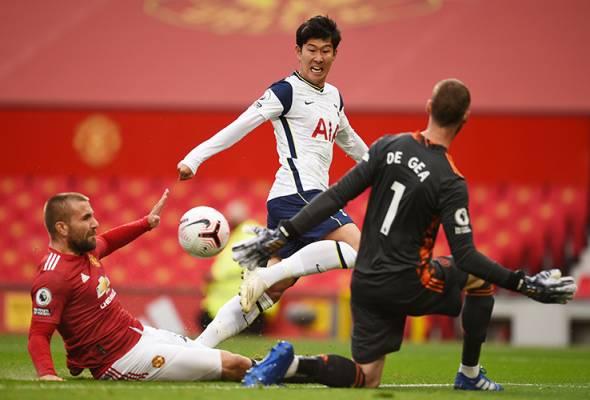 Manchester United dimalukan di laman sendiri, tewas 1-6 di tangan Spurs