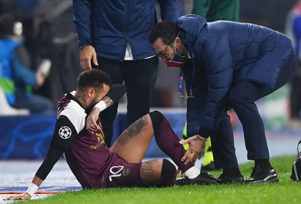 Neymar cedera ketika PSG tewaskan Istanbul Basaksehir