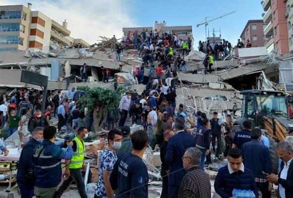 Kementerian Luar malam ini mengesahkan, tiada rakyat Malaysia yang terjejas secara langsung dengan gempa bumi yang menggegarkan Turki dan Greece.