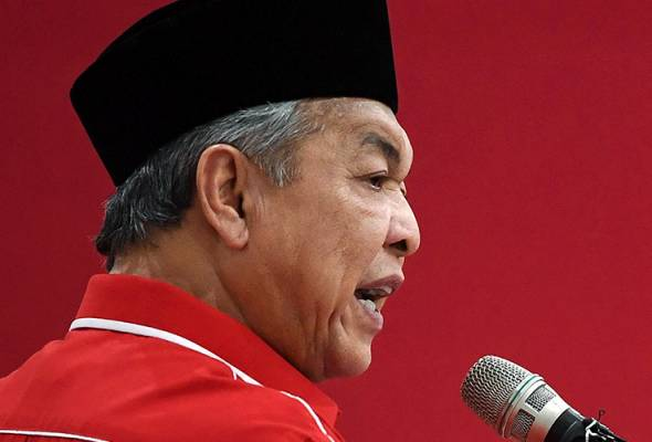 'Ku Li menghadap Agong di luar pengetahuan saya' - Zahid Hamidi