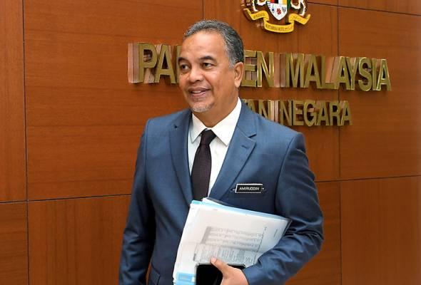 Amiruddin kemuka surat Usul Tidak Percaya terhadap PM