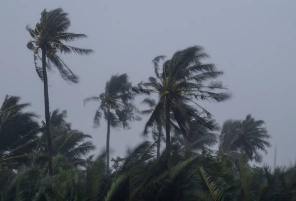Amaran cuaca buruk di Pantai Timur