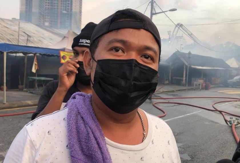Abdul Rahman berkata kejadian itu berlaku secara mengejut kira-kira jam 5.10 petang.