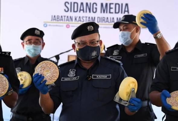 Dadah 16 tan bernilai RM5.2 bilion dirampas, terbesar dalam sejarah negara