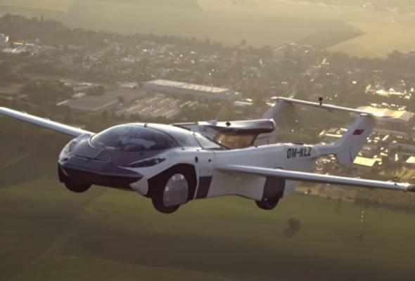 AirCar, kereta terbang berjaya selesaikan penerbangan selama 35 minit
