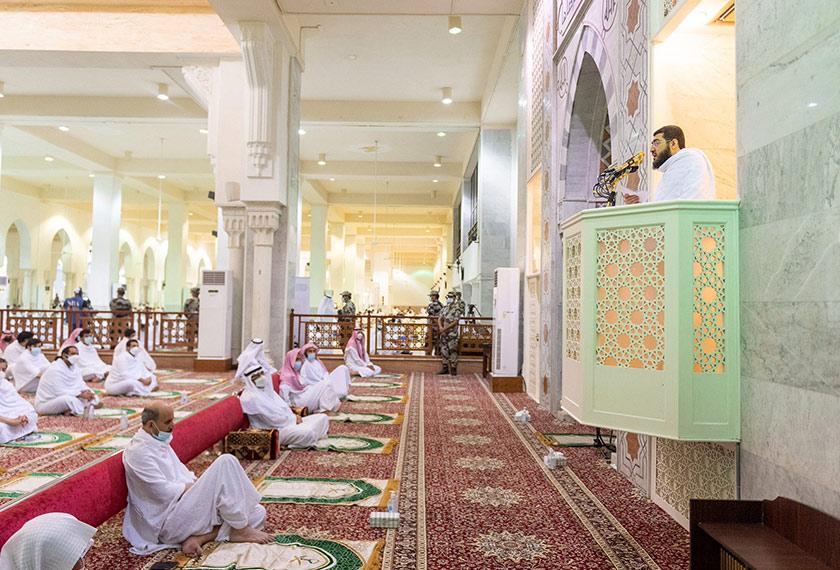Imam Masjid Namirah di Arafah, Syaikh Dr Bandar Abdul Aziz Balilah.