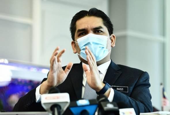 Tiga syarikat diberi kontrak RM9.72 juta bekal kit ujian kendiri - Radzi Jidin