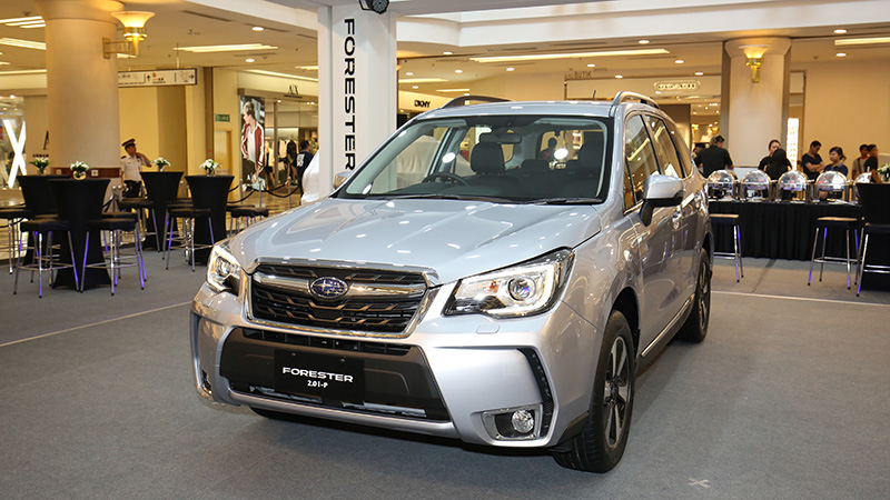 The refreshed Subaru Forester now officially on sale in